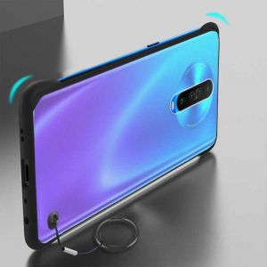 Poco X2 Ultra Slim Transparent Back Cover