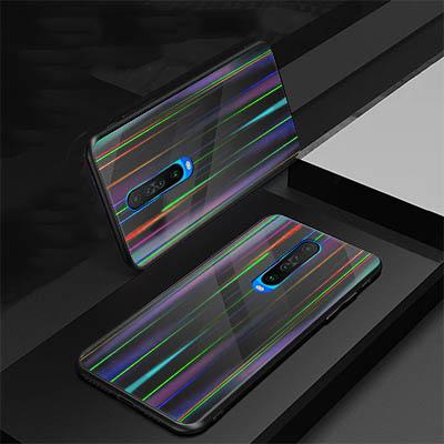 Poco X2 Aurora Finish Mobile Cover