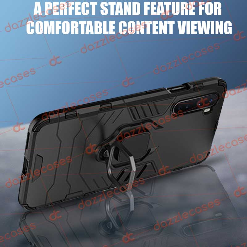 Mobile Back Case for OnePlus Nord Tough Rugged Armor