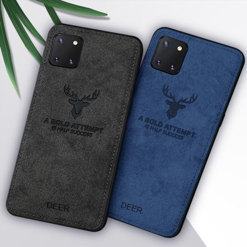 Note 10 Lite 12-Horned Deer Emblem Back Cover