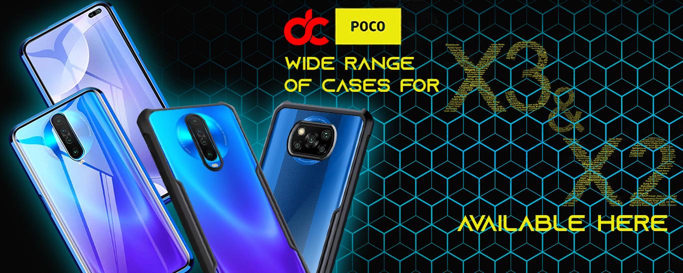 Poco X2 cases